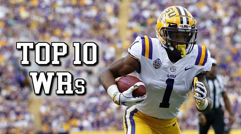 Top 10 wide receivers in the 2021 NFL Draft