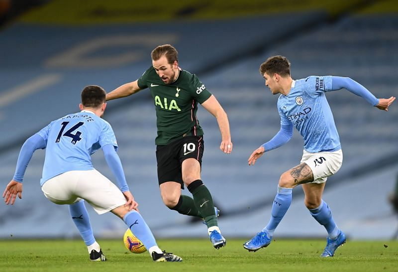Manchester City amd Tottenham Hotspur lock horns in the final of the League Cup