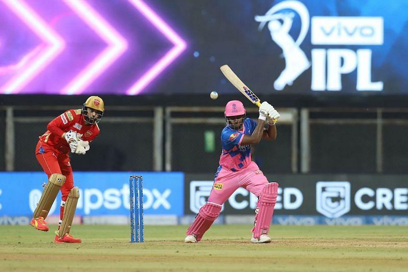 Sanju Samson in action for Rajasthan Royals