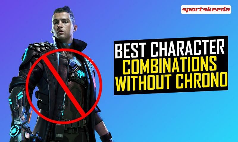 Character combinations without Chrono in Garena Free Fire