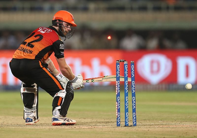 Kane Williamson in action for SRH.