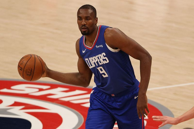 Serge Ibaka #9 of the LA Clippers.