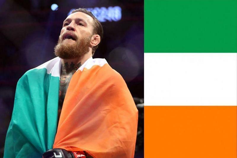 Ireland baby, we did it! UFC champ-champ