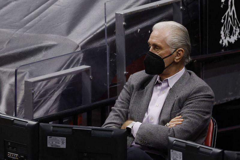 President Pat Riley of the Miami Heat.