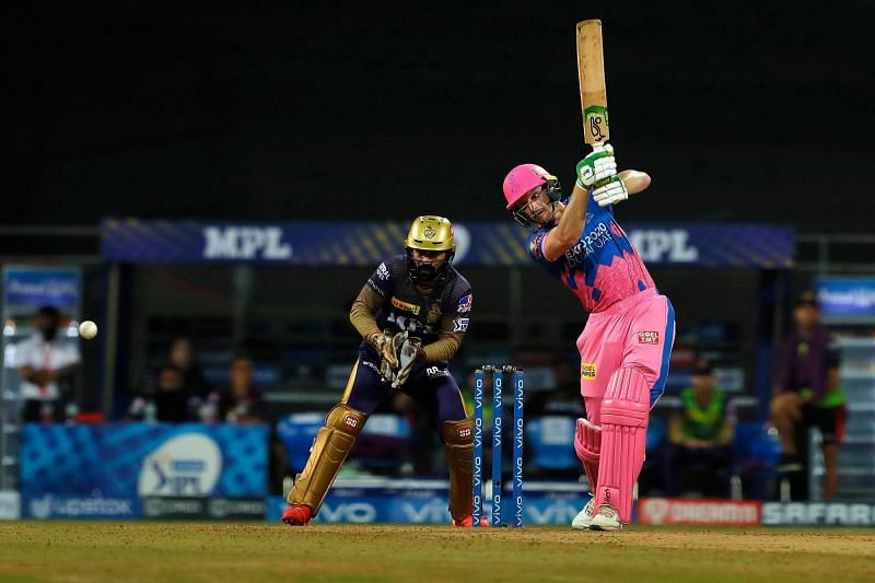 Jos Buttler will aim to recover his form against MI in Delhi (Image Courtesy: IPLT20.com)