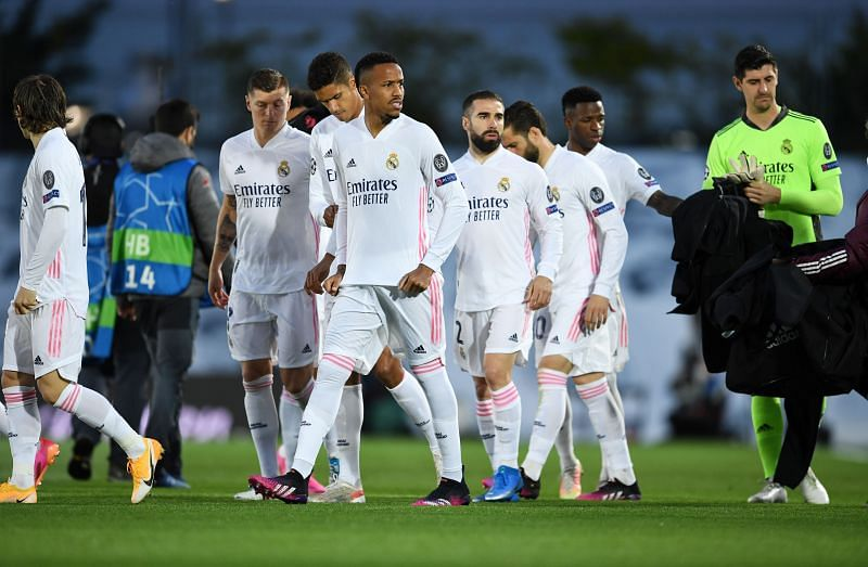 Real Madrid played out a 1-1 draw against Chelsea