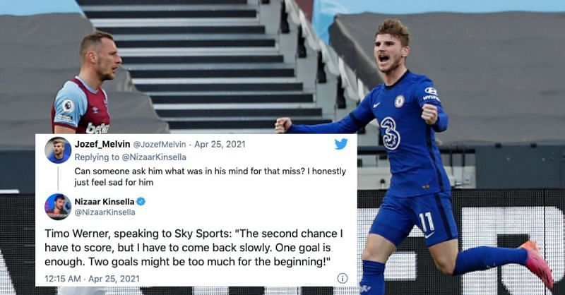 Timo Werner scored a crucial goal for Chelsea