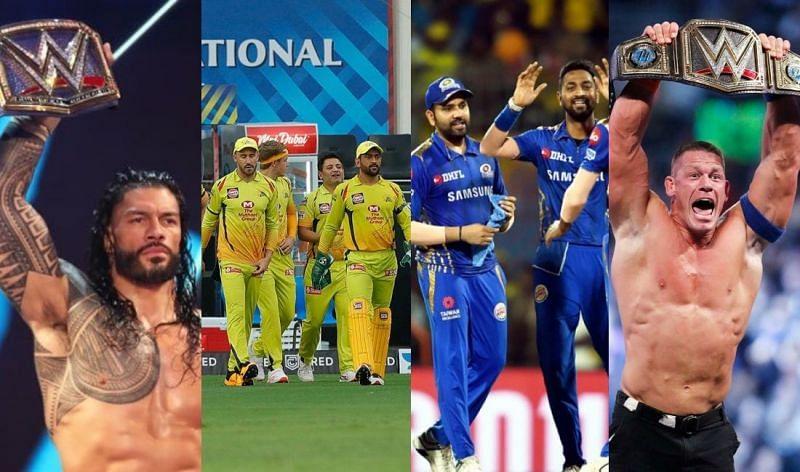 WWE सुपरस्टार्स का कैरेक्टर IPL टीमों से मेल खाता है