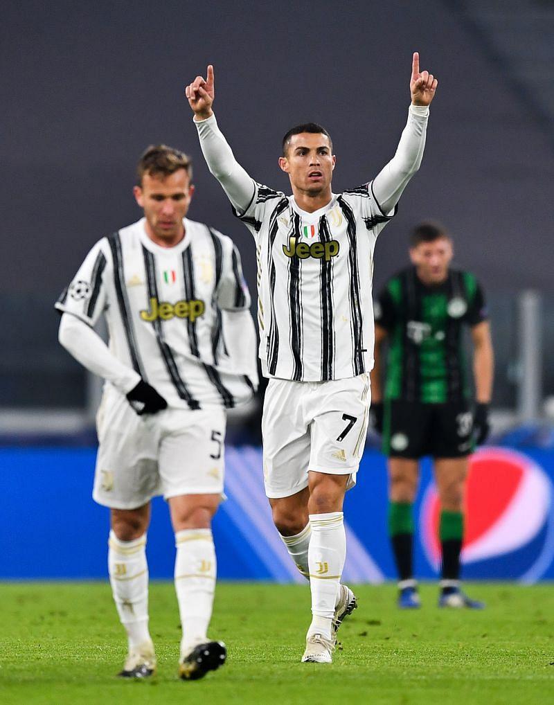 Cristiano Ronaldo opened the scoring for Juventus.