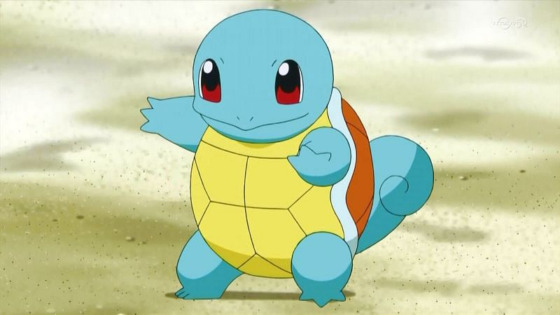 Squirtle in the anime (Image via The Pokemon Company)