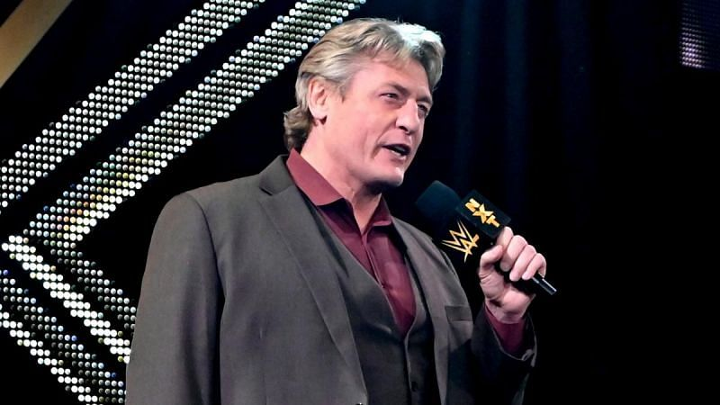 William Regal had high hopes for a certain star