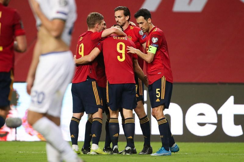 Spain recorded a 3-1 win over Kosovo in the World Cup qualifiers