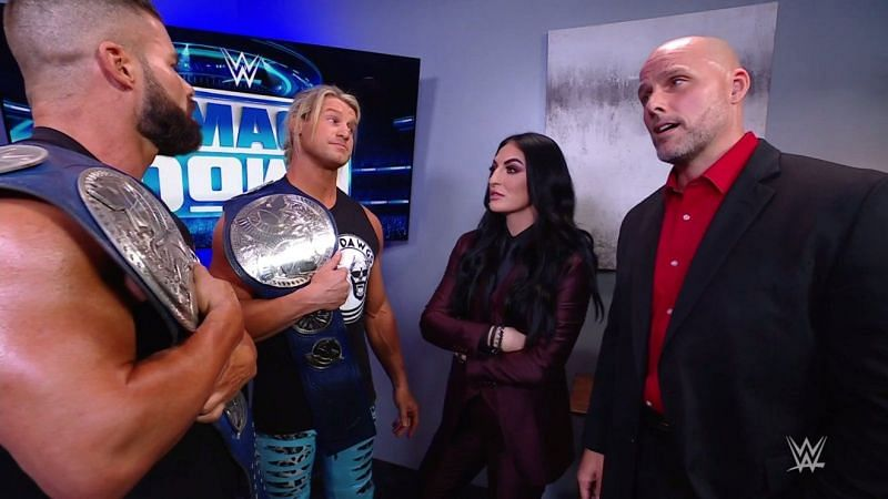 Who will take the belts from Roode and Ziggler?