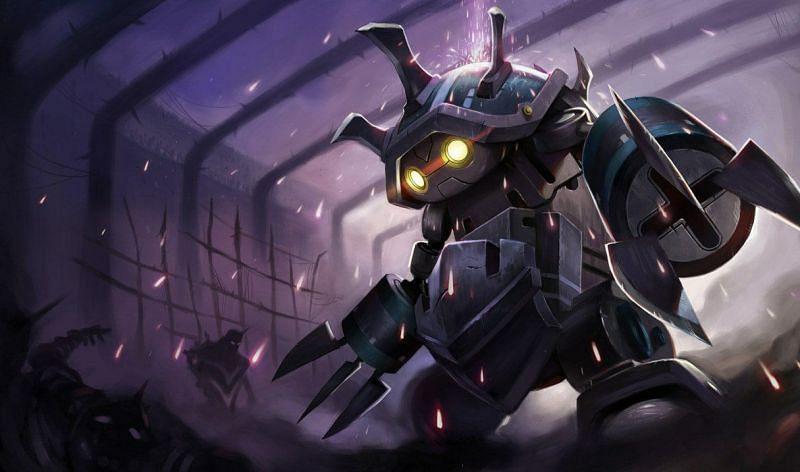 Rammus is getting major VFX upgrades for his mini-rework (Image via Riot Games)