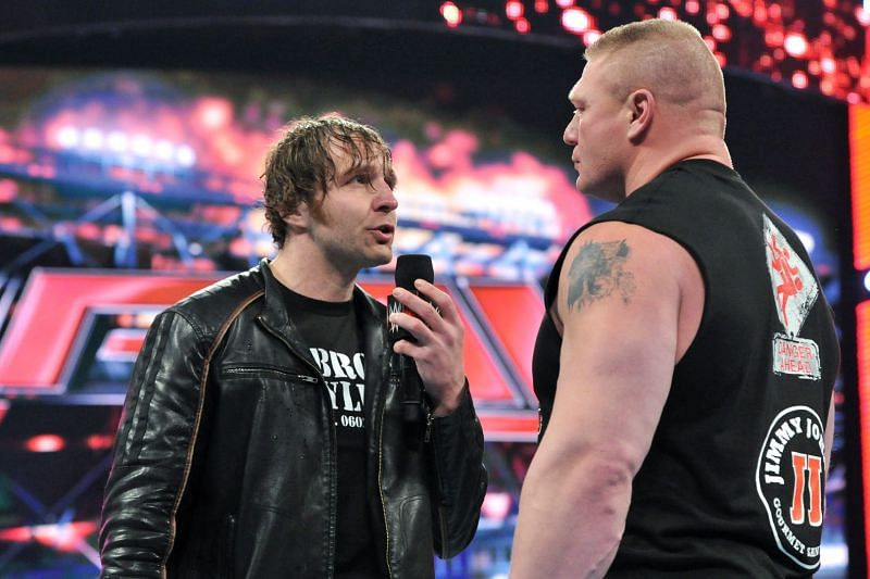 Backstage details of the match between Brock Lesnar and Jon Moxley revealed