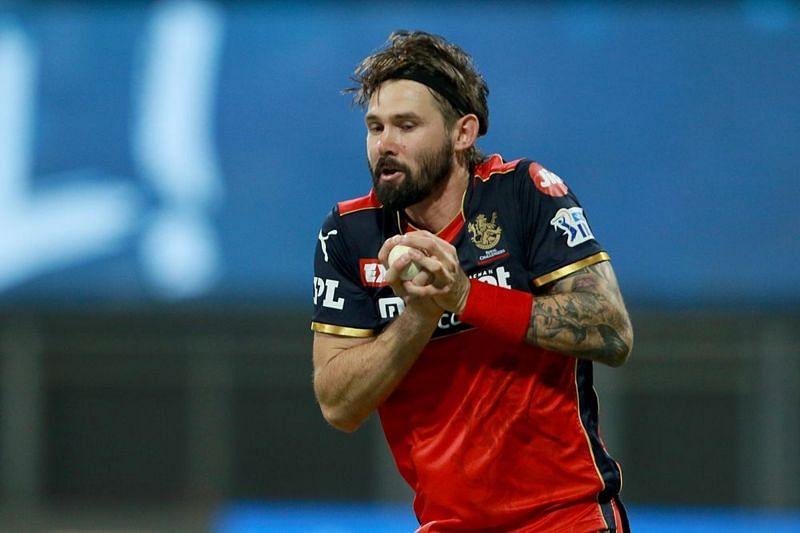 Kane Richardson is playing his 1st match in IPL 2021 tonight (Image Courtesy: IPLT20.com)