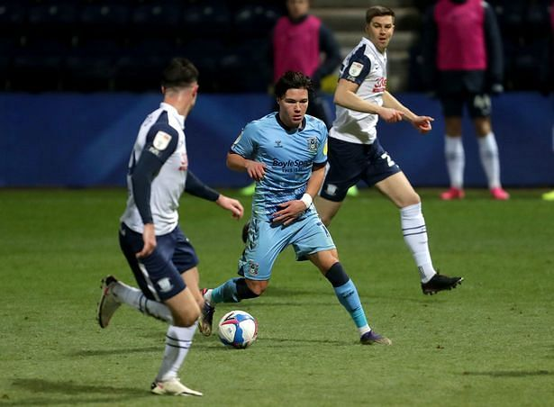 Coventry have lost each of their last three games against Preston