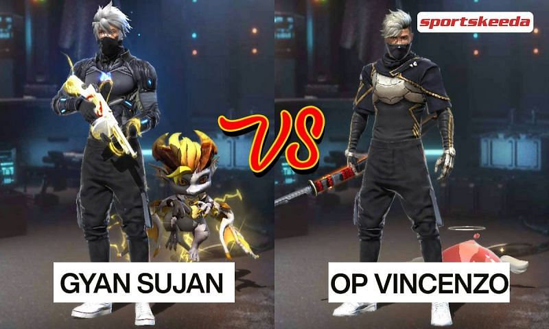 Gyan Sujan and OP Vincenzo in Garena Free Fire