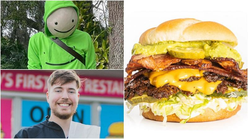 MrBeast Burger x Dream have launched an exclusive Dream Burger