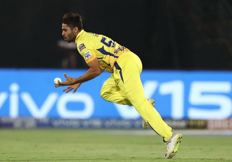 Shardul Thakur has taken two wickets in two matches this year