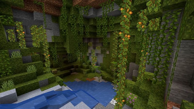 Players will not be able to find axolotls until the full 1.17 update is released (Image via Minecraft Fandom)