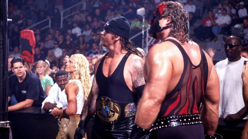 Undertaker and Kane in 2001