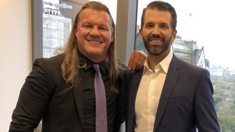 Chris Jericho and Donald Trump Jr.