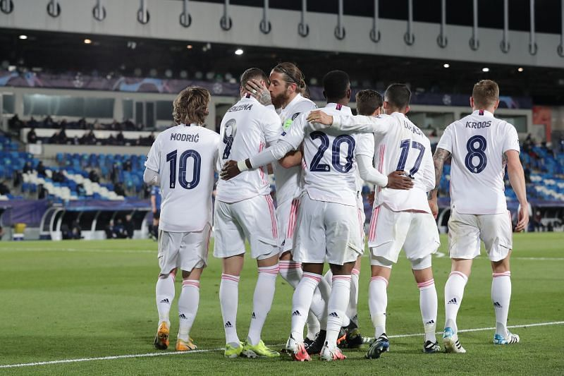 Real Madrid face Liverpool on Tuesday