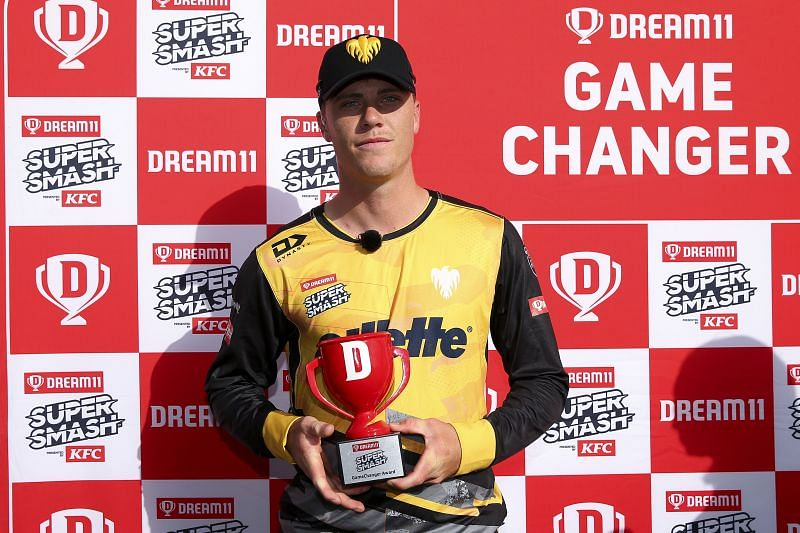 Finn Allen was a match-winner for Wellington in the Dream11 Super Smash