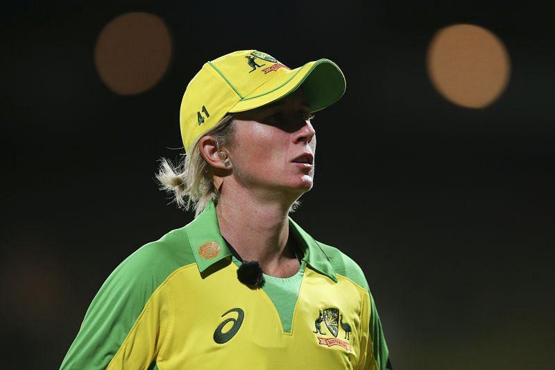 Beth Mooney - New Zealand v Australia - T20 Game 1