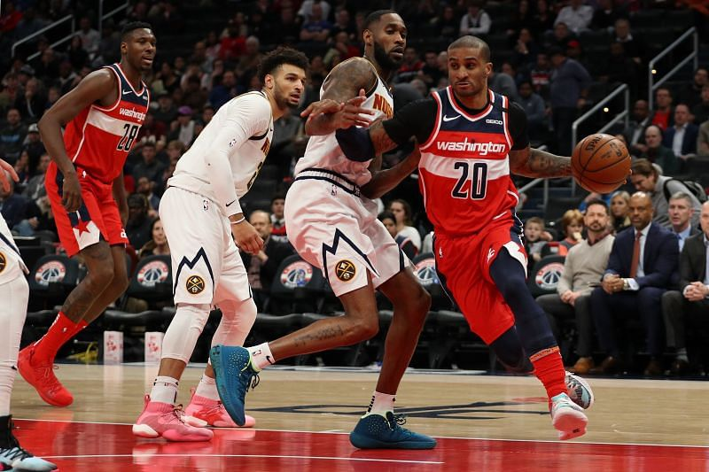 Gary Payton II played 29 games for the Wizards last season.