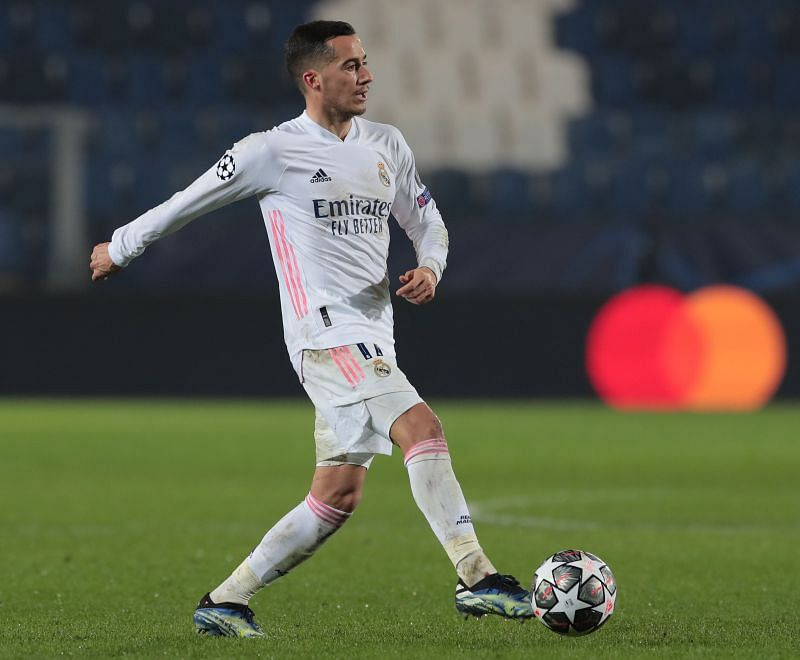 Vazquez in action for Real Madrid