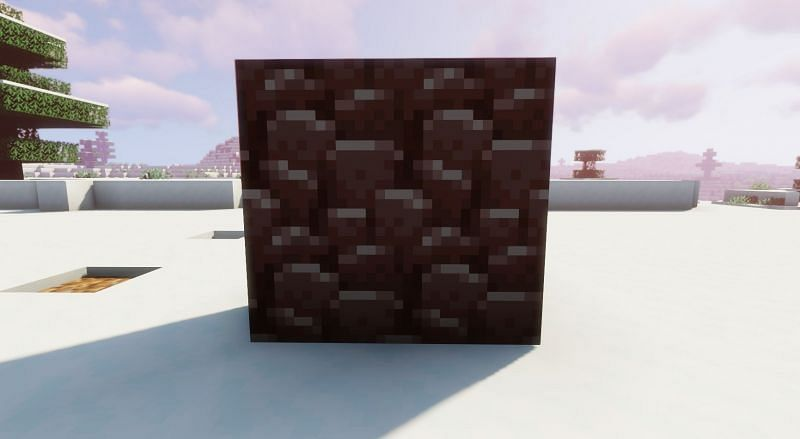 Ancient Debris is most commonly found at level y = 15 (Image via Minecraft)