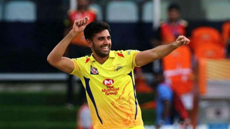 Deepak Chahar - Chennai Super Kings