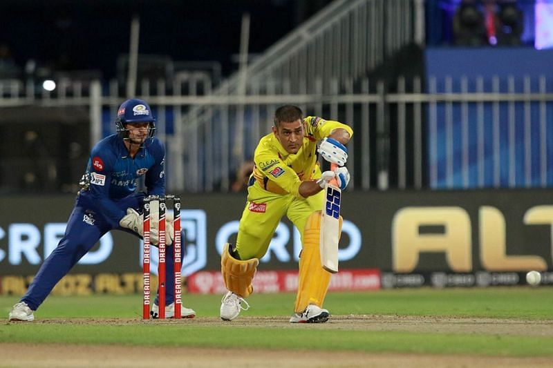MS Dhoni will look to help CSK get one over their arch-rivals. (Image Courtesy: IPLT20.com)