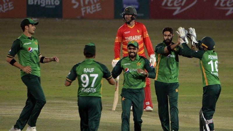 Zimbabwe vs Pakistan 2021 Teams & Squads