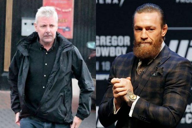 Desmond Keogh [L] and Conor McGregor [R]