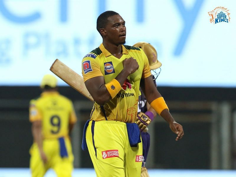 The CSK quick impressed in his first appearance of IPL 2021 (Image courtesy: CSK)