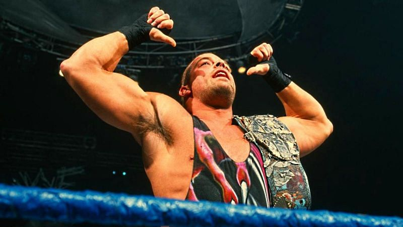 Rob Van Dam as a Hardcore Champion in WWE.