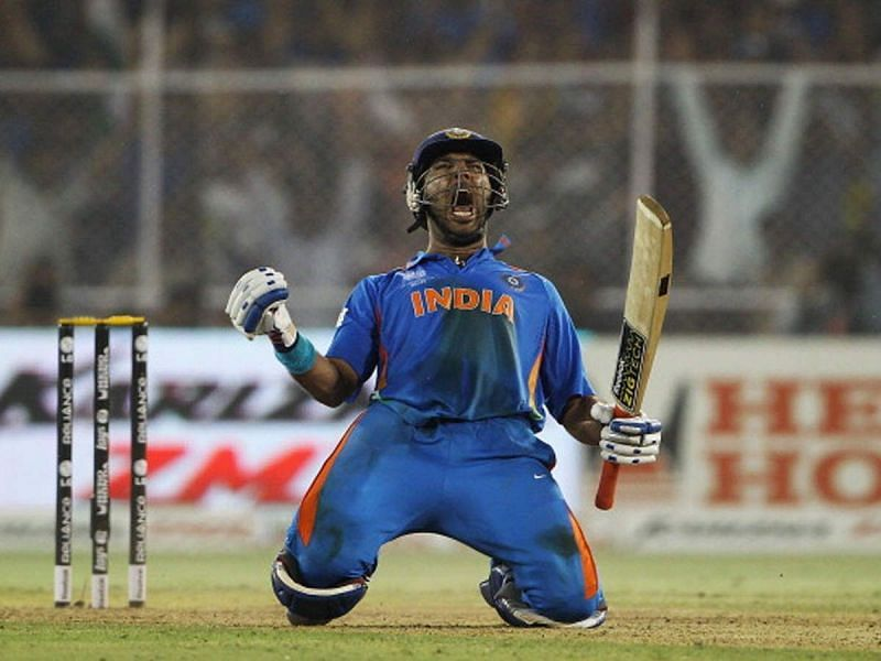 Yuvraj Singh led India to a splendid win against Australia in the 2011 World Cup quarter-final