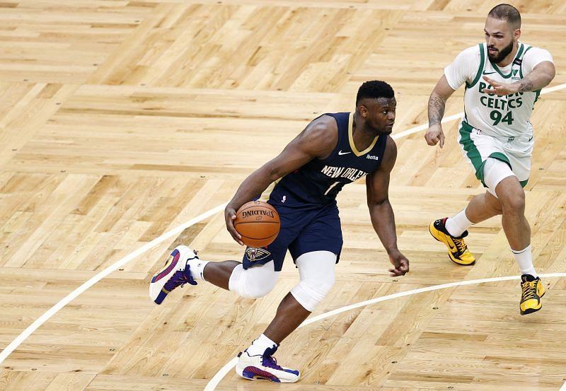 New Orleans Pelicans star Zion Williamson