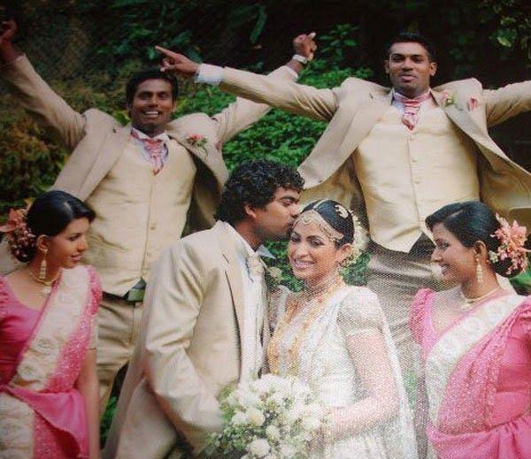 Lasith Malinga's Marriage Ceremony Pics