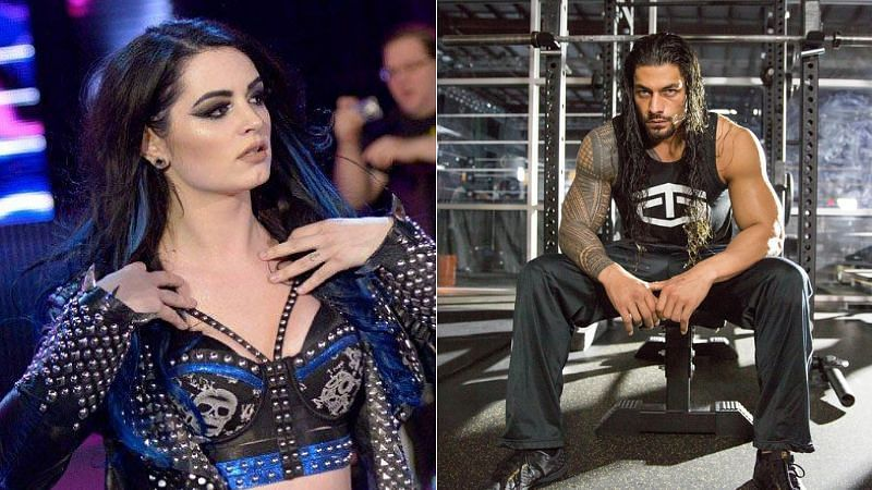 Paige and Roman Reigns worked together in FCW