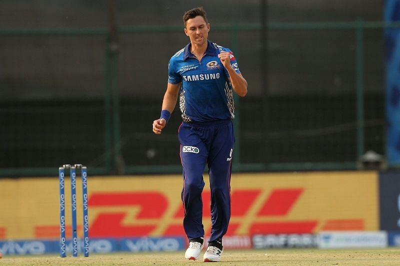 \Trent Boult of MI has improved his death-bowling prowess. (Image Courtesy: IPLT20.com)