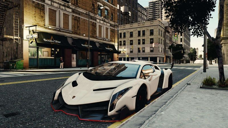 GTA 4 is home to some spectacular car mods (image via GTAall)