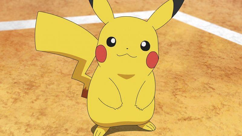 Pikachu in the anime (Image via The Pokemon Company)