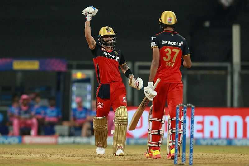 Devdutt Padikkal and Virat Kohli (L) shared a record-breaking opening partnership. (PC: Twitter)