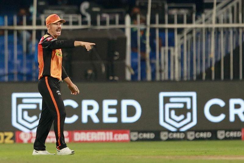 David Warner-led SRH registered their first win in IPL 2021. (Image courtesy; IPLT20.com)