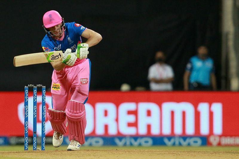 Jos Buttler was the only Rajasthan Royals batsman to offer resistance against CSK [P/C: iplt20.com]