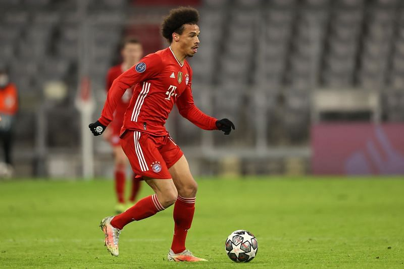Leroy Sane has put in some good performances for Bayern Munich this season